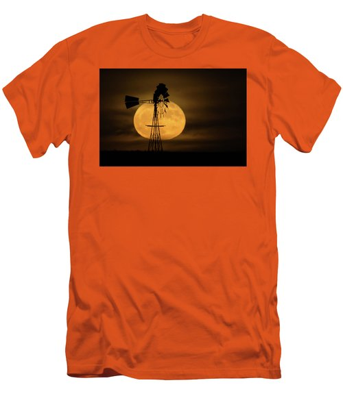 Supermoon Rise 4  11-14-2016 Men's T-Shirt (Athletic Fit)