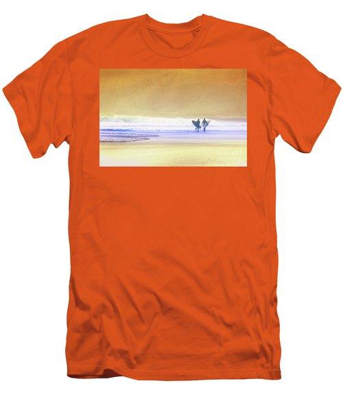Surfers Men's T-Shirt (Athletic Fit)