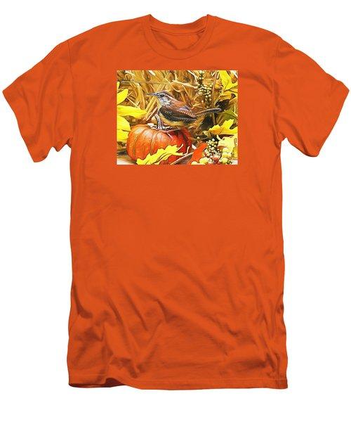 Sweet Carolina Wren Men's T-Shirt (Athletic Fit)