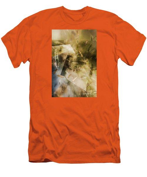 Sweet Grass Men's T-Shirt (Slim Fit) by Elaine Hunter