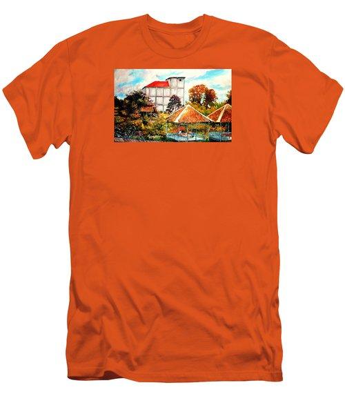 Swifts  Nest's Building Men's T-Shirt (Athletic Fit)