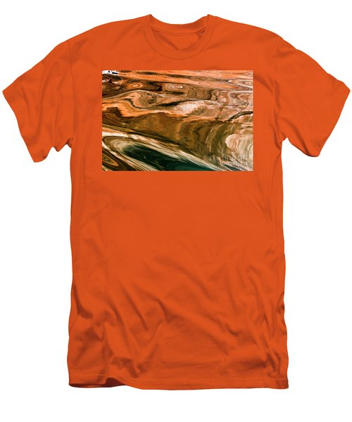 Swirls Men's T-Shirt (Athletic Fit)