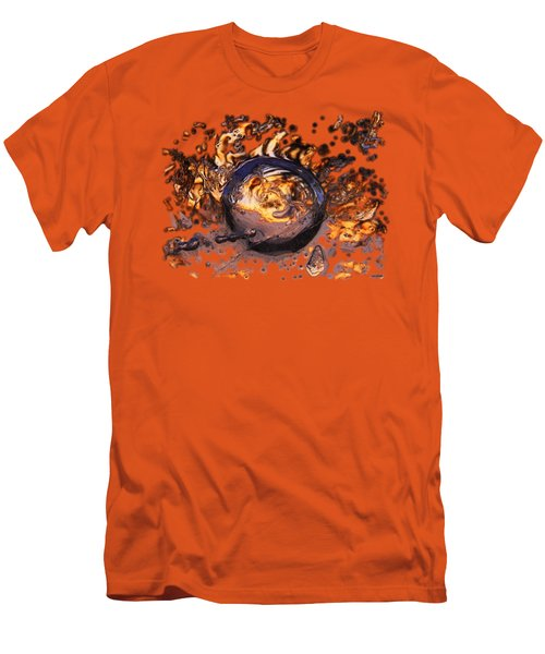 Swirly Gateway Men's T-Shirt (Slim Fit) by Sami Tiainen