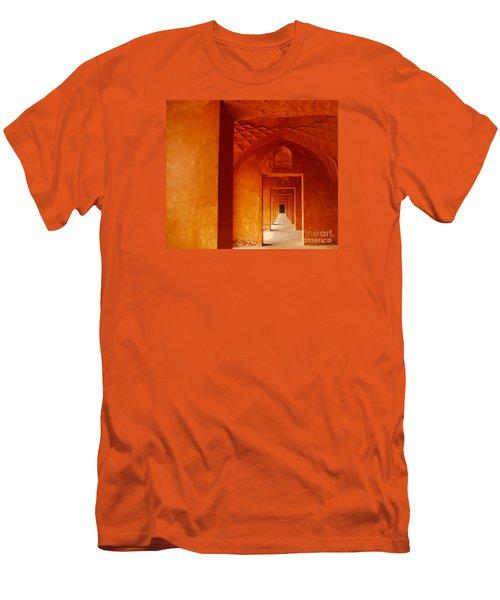 Taj Mahal Men's T-Shirt (Slim Fit) by M G Whittingham