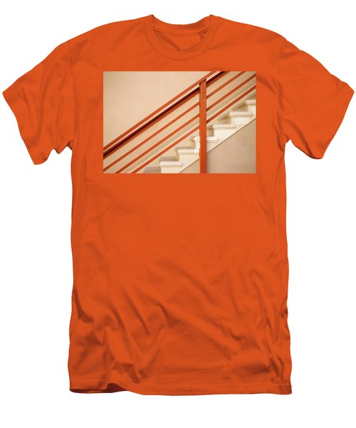 Tan Stairs Venice Beach California Men's T-Shirt (Athletic Fit)