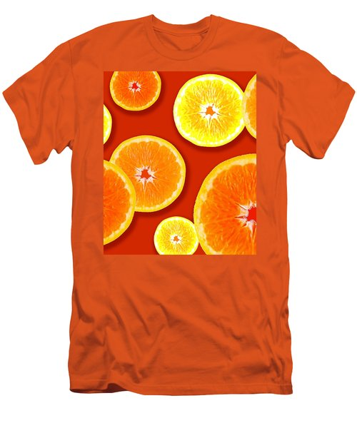 Tangerine Tango Men's T-Shirt (Slim Fit) by Tara Hutton