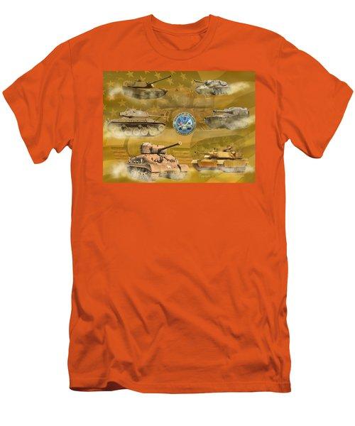 Tanks Four Men's T-Shirt (Athletic Fit)