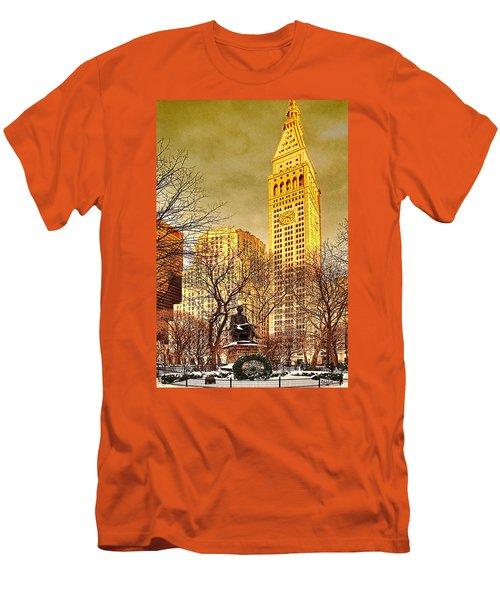 Ten Past Four At Madison Square Park Men's T-Shirt (Athletic Fit)