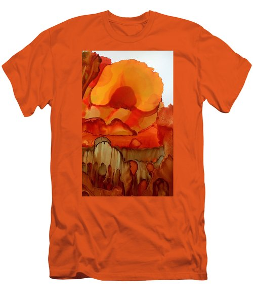 The Ball Of Fire Men's T-Shirt (Athletic Fit)