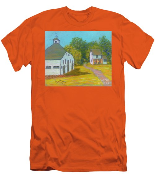 The Barn At Uniacke House  Men's T-Shirt (Slim Fit) by Rae  Smith