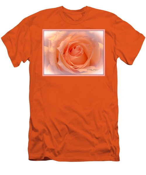 The  Beauty Of A Rose  Copyright Mary Lee Parker 17,  Men's T-Shirt (Slim Fit) by MaryLee Parker