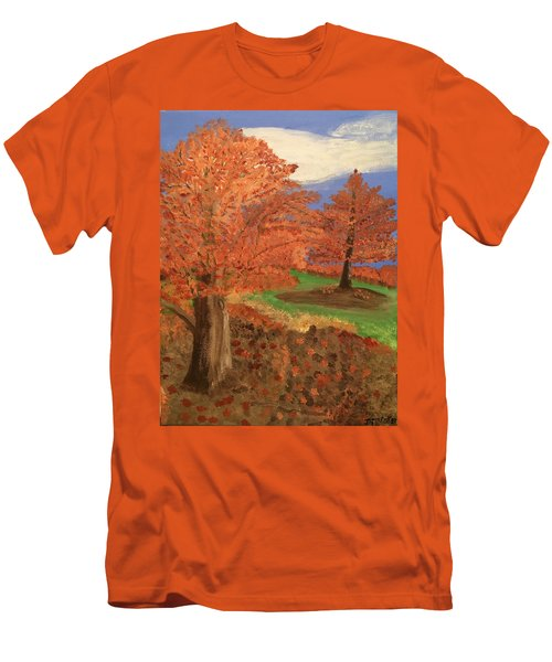 The Beauty Of Autumn  Men's T-Shirt (Athletic Fit)