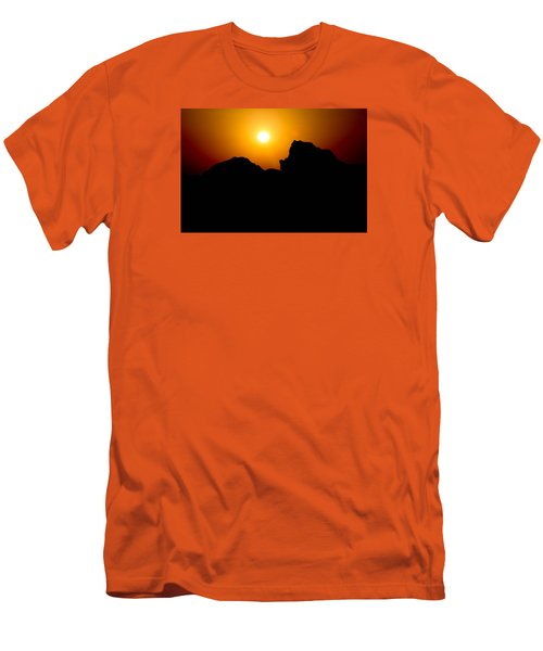 Men's T-Shirt (Slim Fit) featuring the photograph The Burn by Jez C Self