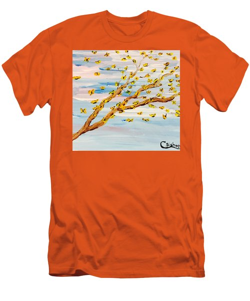 The Butterfly Tree Men's T-Shirt (Athletic Fit)