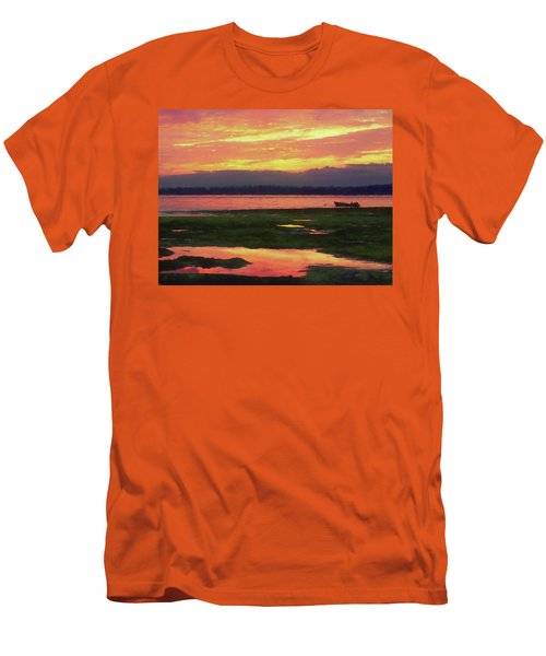 The Colors Of Ship Creek Men's T-Shirt (Athletic Fit)