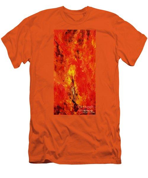 The Elements Fire #1 Men's T-Shirt (Athletic Fit)
