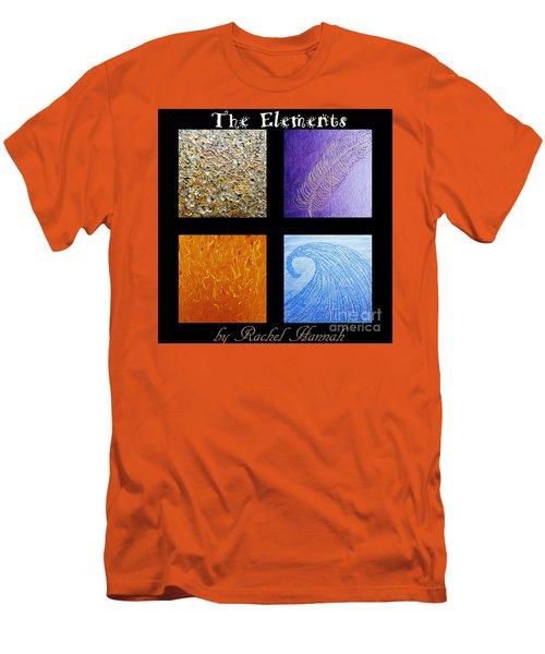The Elements Men's T-Shirt (Slim Fit) by Rachel Hannah