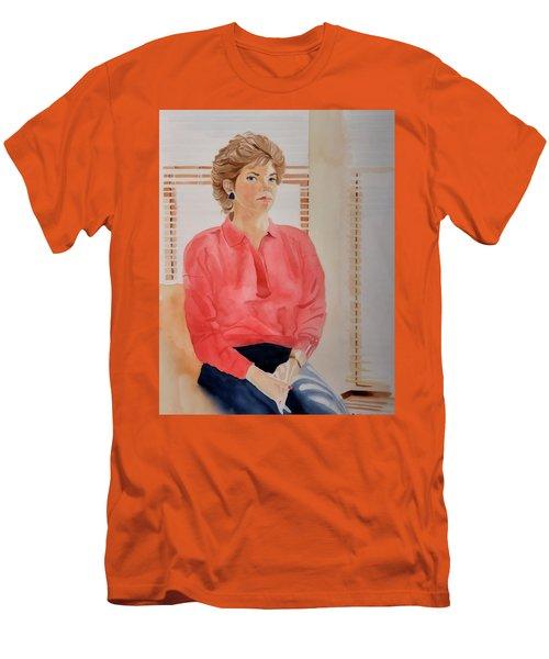 The Face Series - Pamela Men's T-Shirt (Athletic Fit)