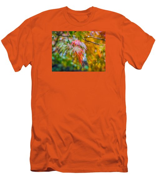The Freshness Of Fall Men's T-Shirt (Slim Fit) by Ken Stanback