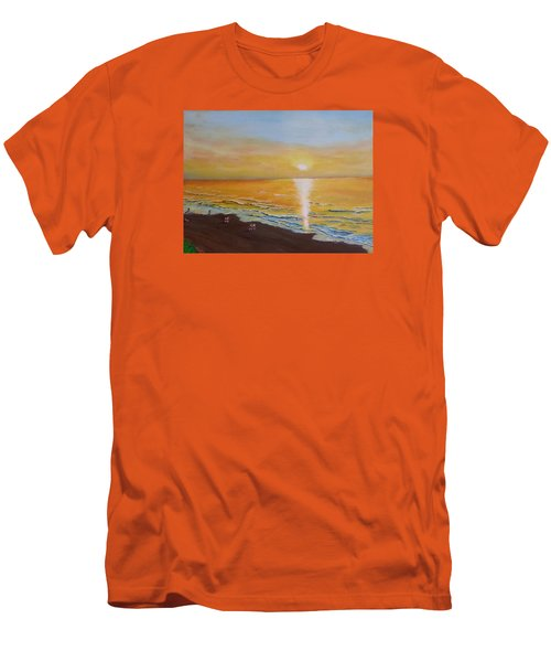The Golden Ocean Men's T-Shirt (Athletic Fit)