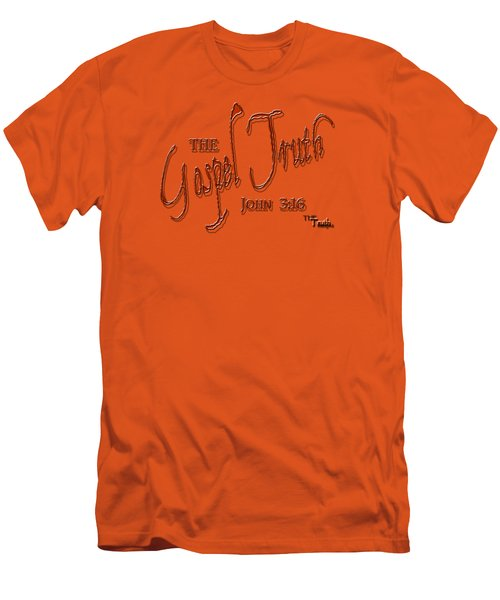 The Gospel Truth T Shirt Men's T-Shirt (Slim Fit) by Larry Bishop