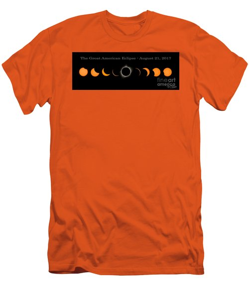 The Great American Eclipse Of 2017 Men's T-Shirt (Athletic Fit)