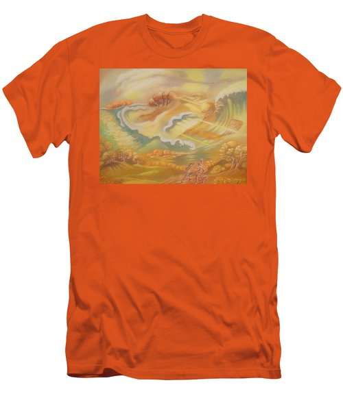 The Happy Tsunami Men's T-Shirt (Athletic Fit)
