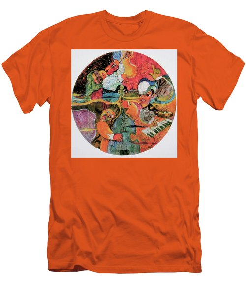 The Holland Jazz Trio Men's T-Shirt (Slim Fit) by Lee Ransaw