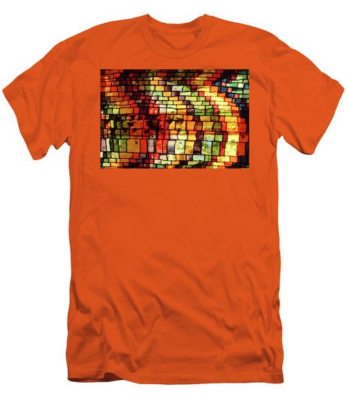The Human Heart Likes A Little Disorder In Its Geometry Men's T-Shirt (Slim Fit) by Danica Radman