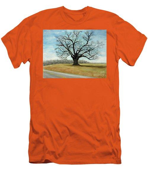 The Keeler Oak Men's T-Shirt (Slim Fit) by Lyric Lucas