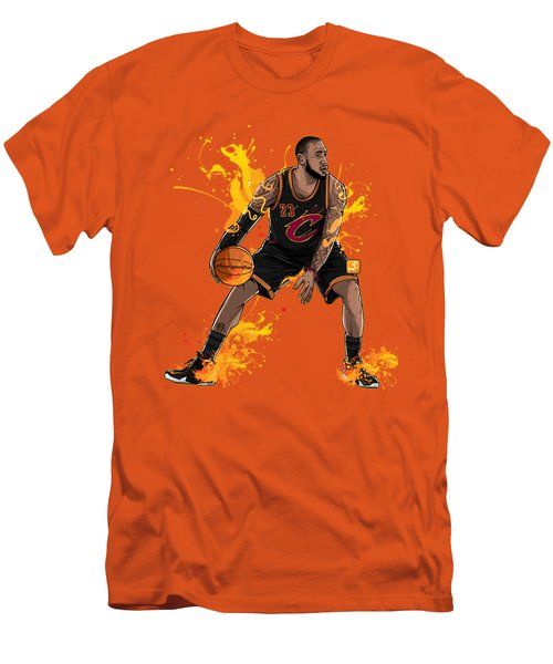 The King James Men's T-Shirt (Slim Fit) by Akyanyme