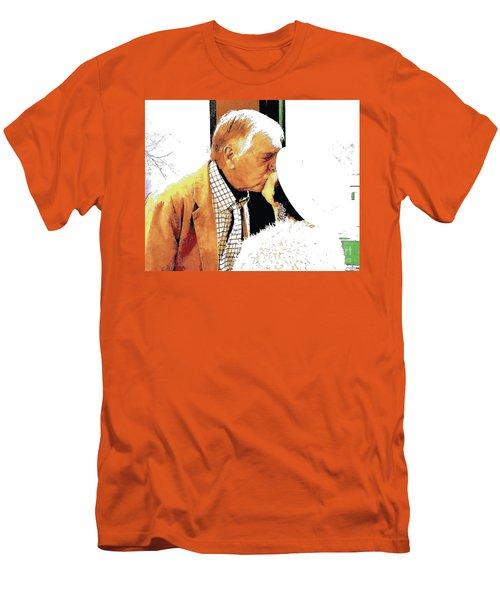 The Kiss II Men's T-Shirt (Slim Fit) by Jesse Ciazza