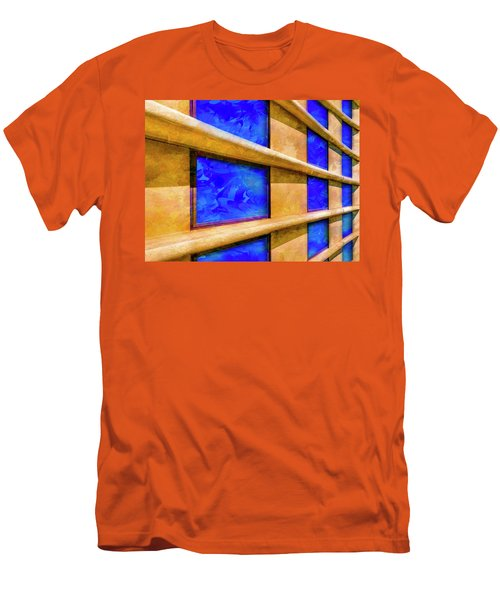 The Ledge Men's T-Shirt (Slim Fit) by Paul Wear