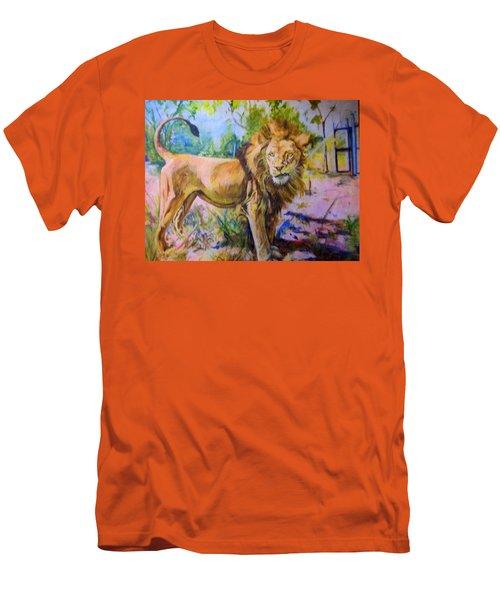 The Lion Men's T-Shirt (Athletic Fit)