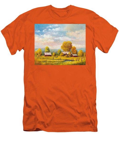The Lonely Horse Men's T-Shirt (Athletic Fit)