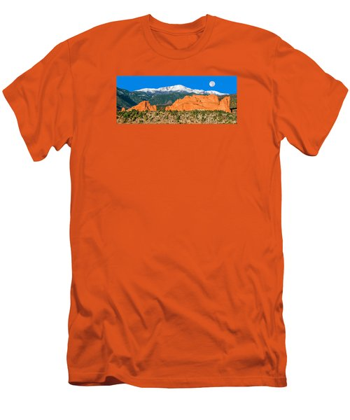 The Most Popular City Park In The U.s. Men's T-Shirt (Slim Fit) by Bijan Pirnia