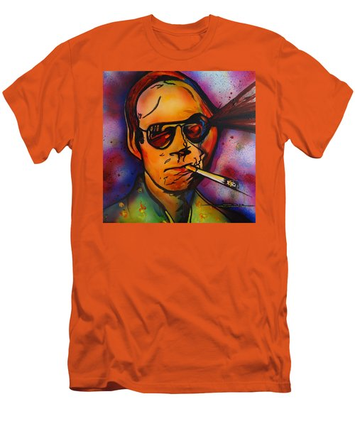 The Psycho-delic Suicide Of The Tambourine Man Men's T-Shirt (Athletic Fit)