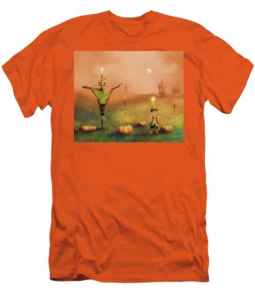 The Pumpkin Thief Men's T-Shirt (Athletic Fit)