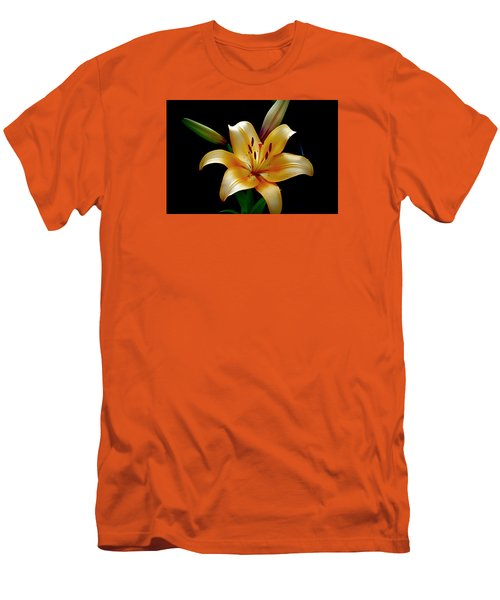 The Queen Lily Men's T-Shirt (Slim Fit) by Karen McKenzie McAdoo