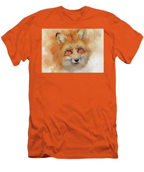 The Red Fox Men's T-Shirt (Slim Fit) by Brian Tarr