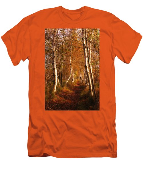 The Road Not Taken Men's T-Shirt (Athletic Fit)