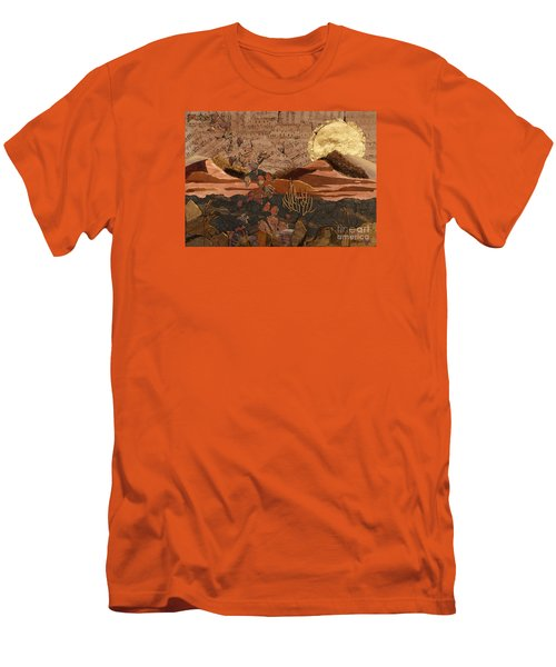 The Scream Of A Butterfly Men's T-Shirt (Slim Fit) by Stanza Widen