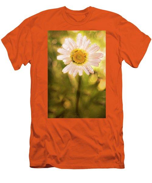 The Secret Language Of Flowers Men's T-Shirt (Athletic Fit)