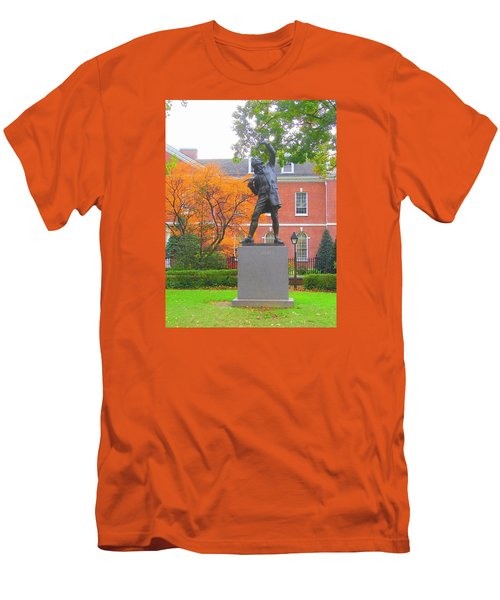 The Signer Men's T-Shirt (Slim Fit) by J R Seymour