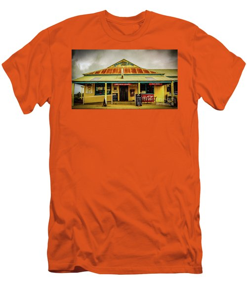Men's T-Shirt (Slim Fit) featuring the photograph The Store by Perry Webster
