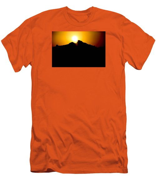 Men's T-Shirt (Slim Fit) featuring the photograph The Sun Feeds Me by Jez C Self