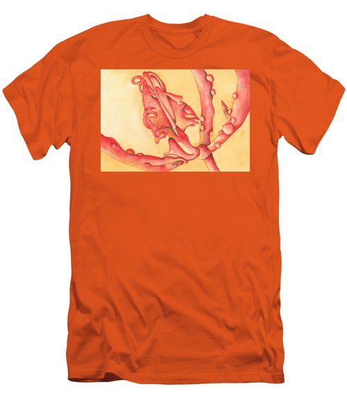 The Wet Dragon Men's T-Shirt (Slim Fit) by Versel Reid