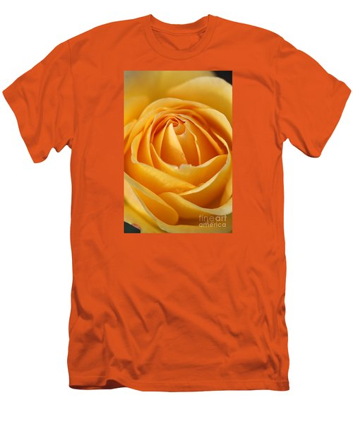 The Yellow Rose Men's T-Shirt (Slim Fit) by Joy Watson