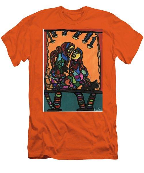 Theater Men's T-Shirt (Slim Fit) by Darrell Black