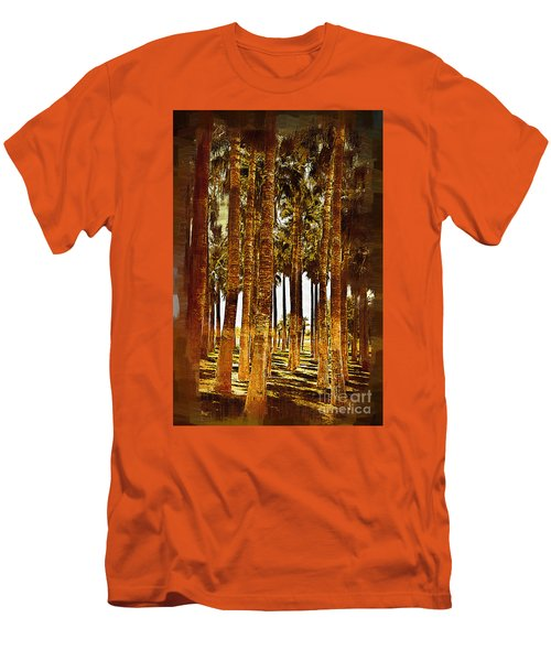 Thick Palm Trees Men's T-Shirt (Slim Fit) by Kirt Tisdale